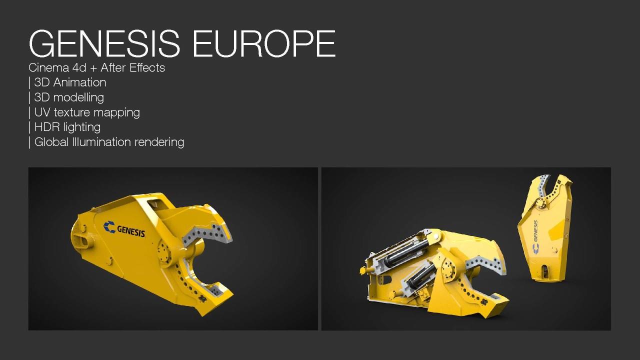Matthias Friel 3D vfx Genesis Europe